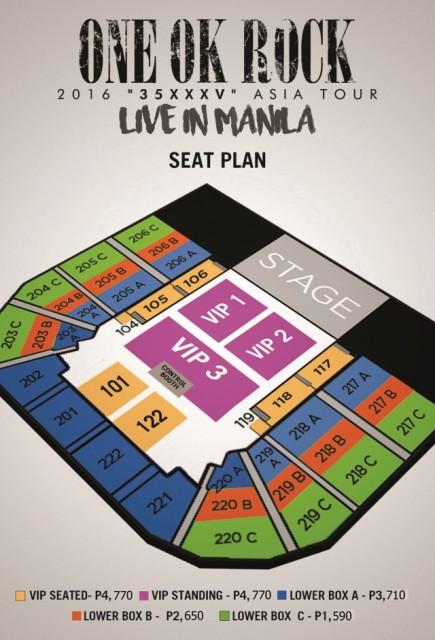 seat plan manila